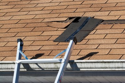 roof - damage